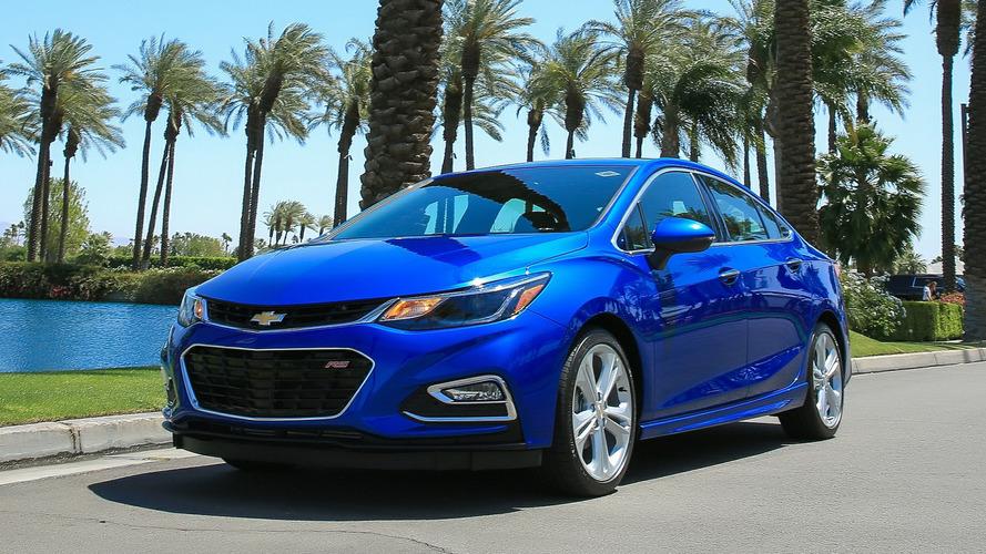 Chevrolet reduz produção do Cruze nos EUA por conta das baixas vendas