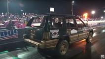 Demolition Derby Drag Racing