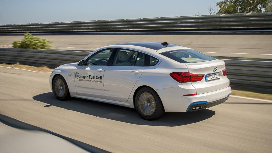 BMW Hydrogen Fuel Cell 5 Series GT