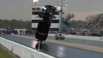 Corvette Dragster airborne