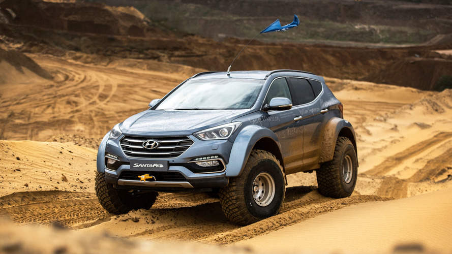 Driving the Antarctic (and Bedfordshire) in a Hyundai Santa Fe