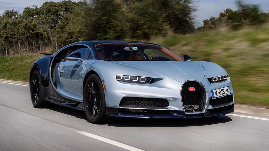 Sucessor do Bugatti Chiron começará a ser desenvolvido em 2019