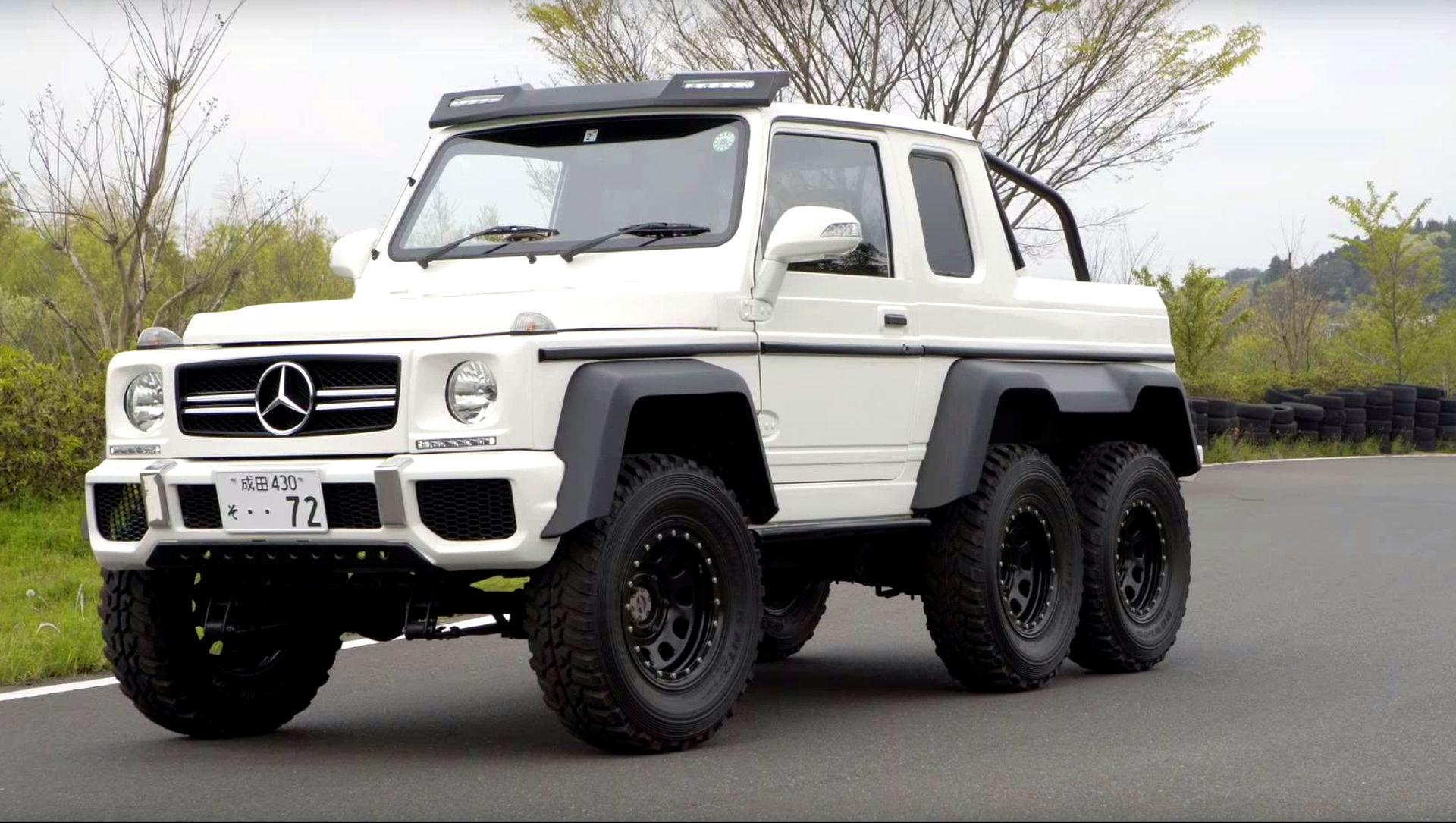 this mercedes g63 amg 6x6 clone is really a suzuki jimny. Black Bedroom Furniture Sets. Home Design Ideas