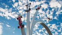 Goodwood Festival of Speed Bernie Ecclestone sculpture