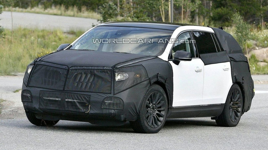 Lincoln MKT Spied With Interior Shots