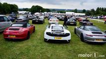 Porsches, McLarens, Mercedes, Lamborghinis at 2017 Goodwood Festival of Speed
