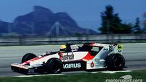 A estreia na F1