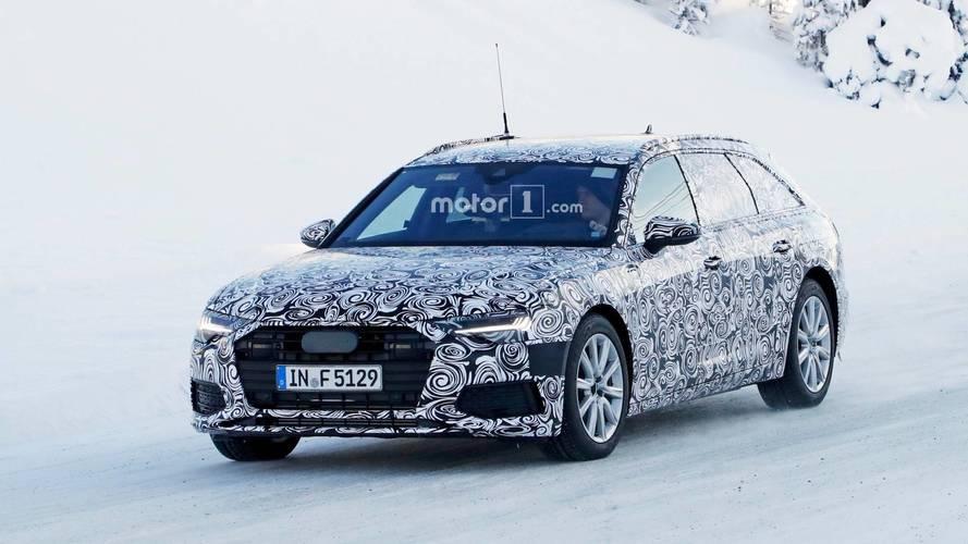Yeni Audi A6 Avant hem içten hem dıştan görüntülendi