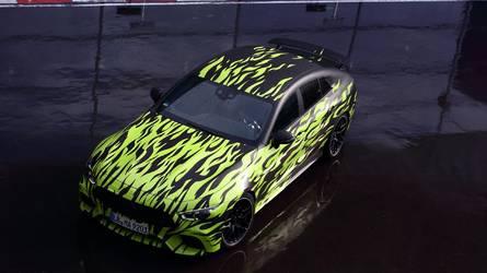 La Mercedes-AMG GT Berline se promène encore et toujours