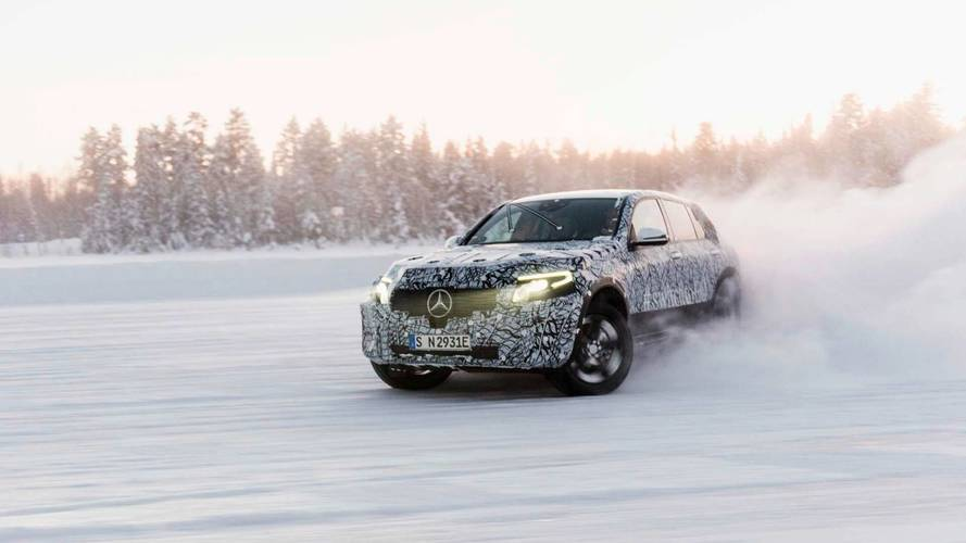 Mercedes EQ C'nin ilk teaser'ı geldi