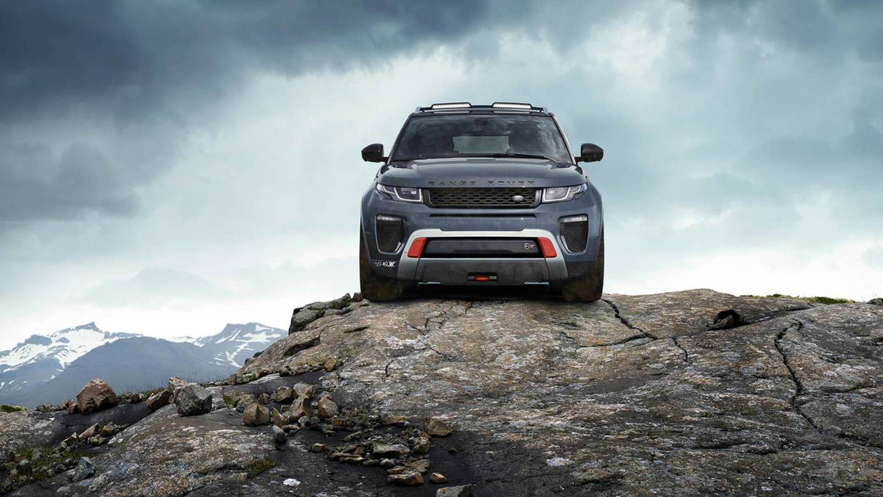 Renders Land Rover SVX