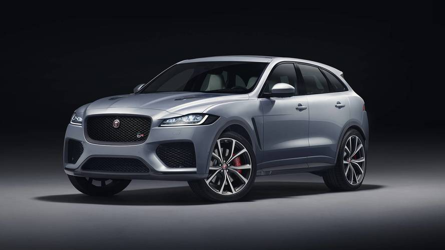 Jaguar Admits Big SUV Above F-Pace Is A Possibility