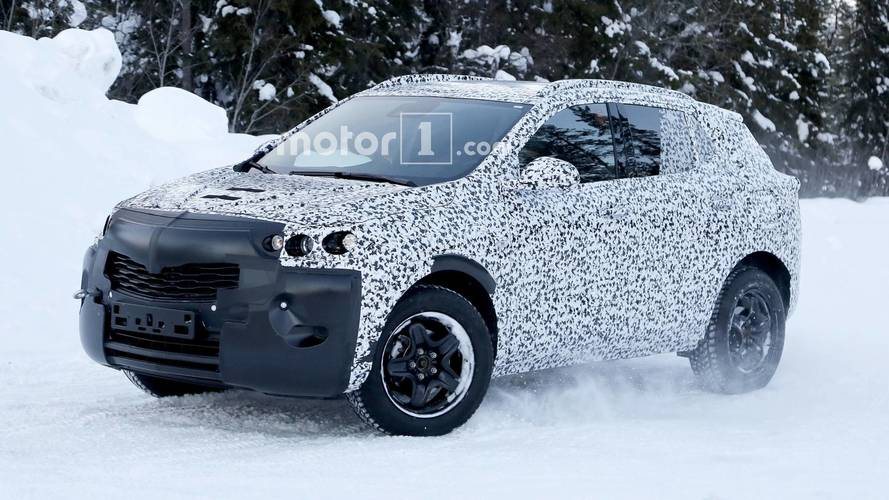 New Vauxhall Mokka X spied – probably hiding new PSA platform