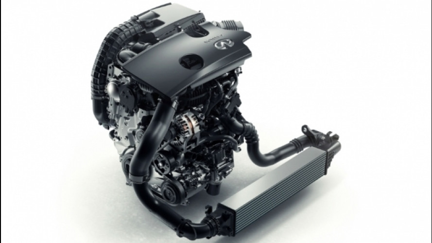 Infiniti VC-T, il motore
