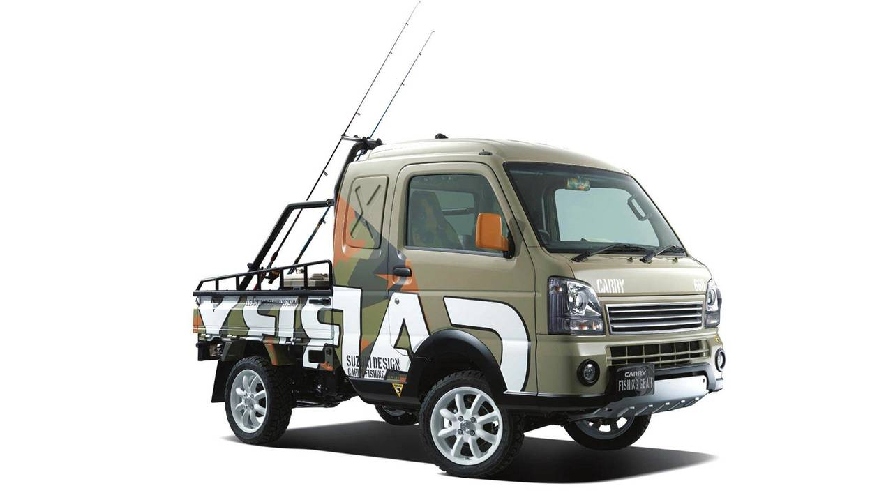 Suzuki Carry Fishing Gear Concept