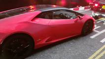 Lamborghini Huracan with 1.3 million Swarovski crystals