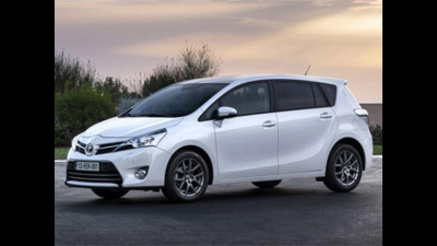 Toyota Verso restyling, listino prezzi da 20.950 euro