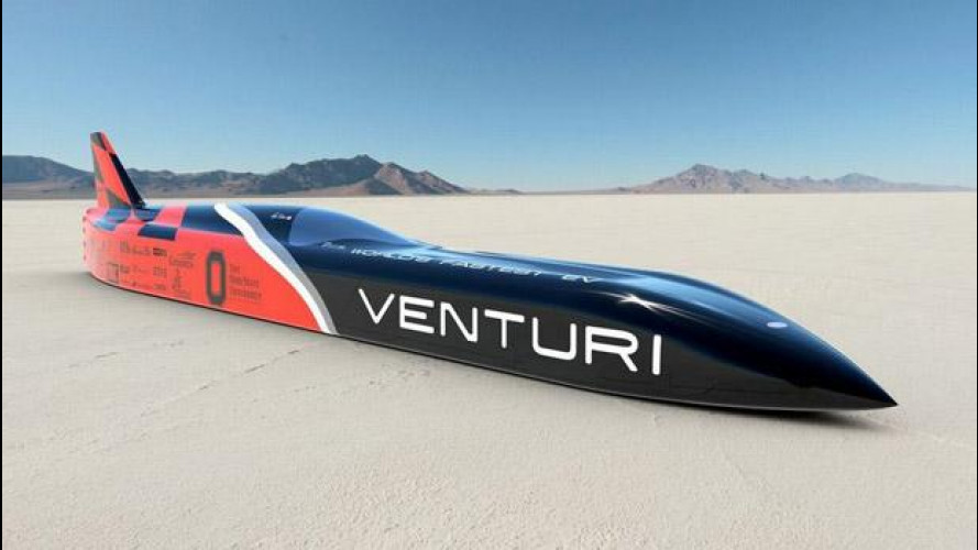 Venturi VBB-3, l'elettrica da 700 km/h