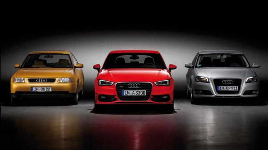 Audi A3: 16 anni di carriera