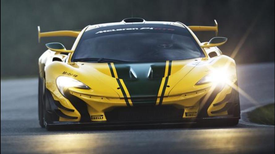 McLaren P1 GTR, la pista è il suo mondo