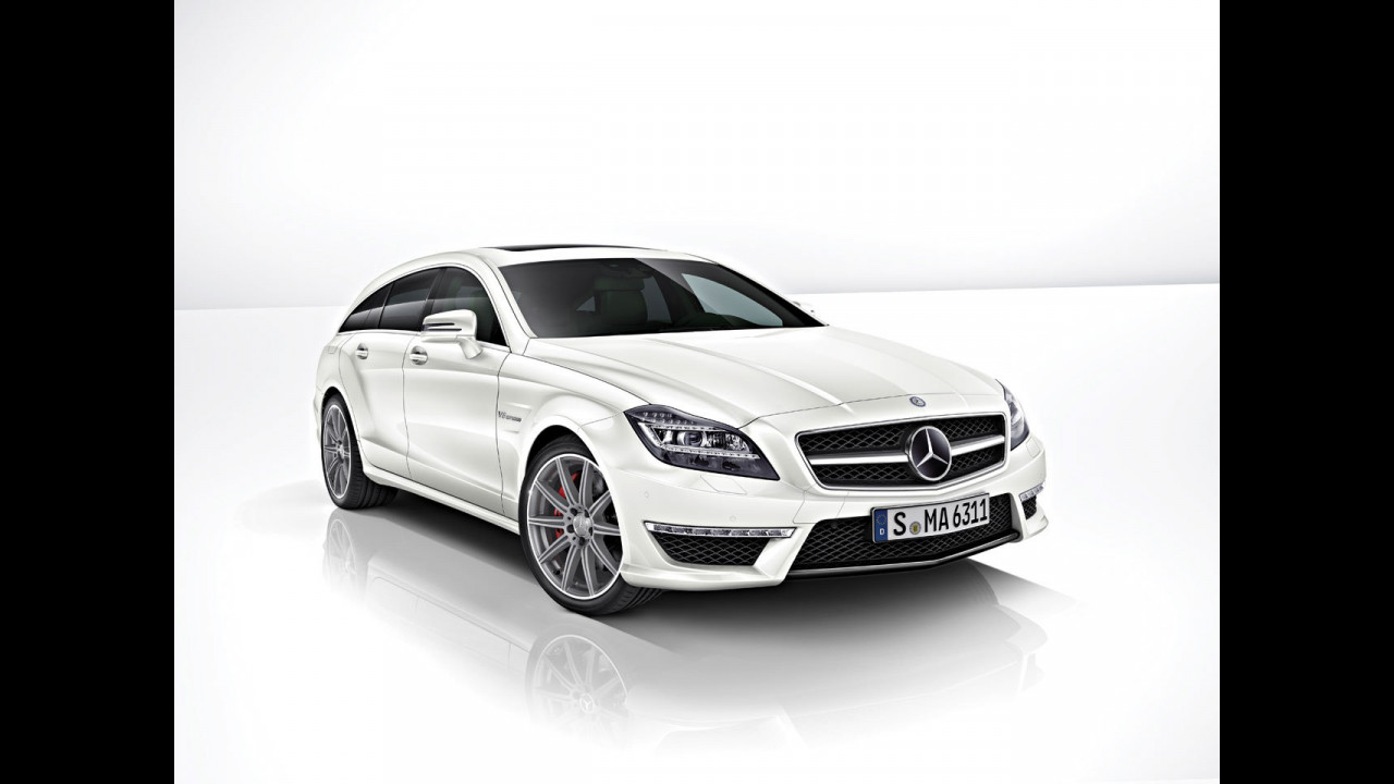 Nuova Mercedes CLS 63 AMG Shooting Brake
