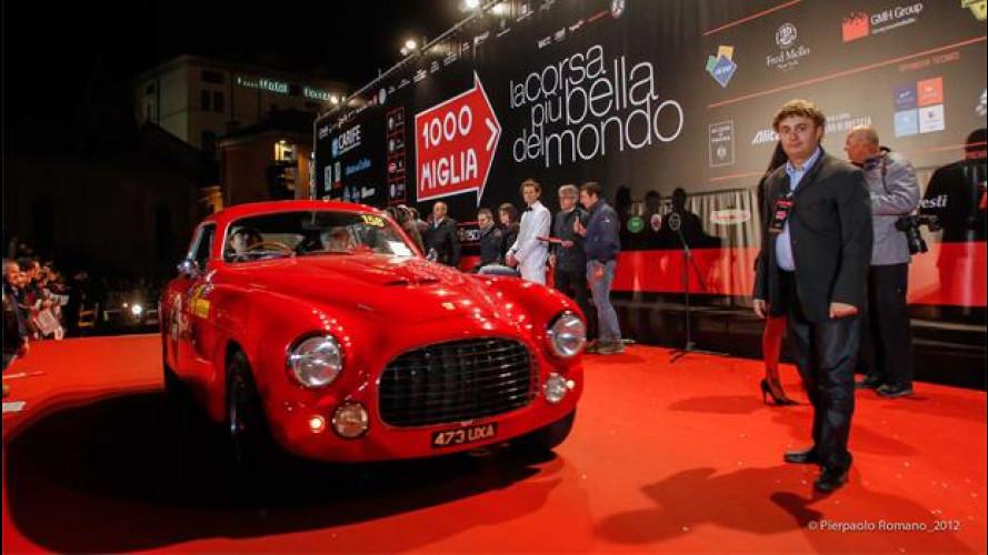 Mille Miglia 2013, al via 410 auto storiche: è record