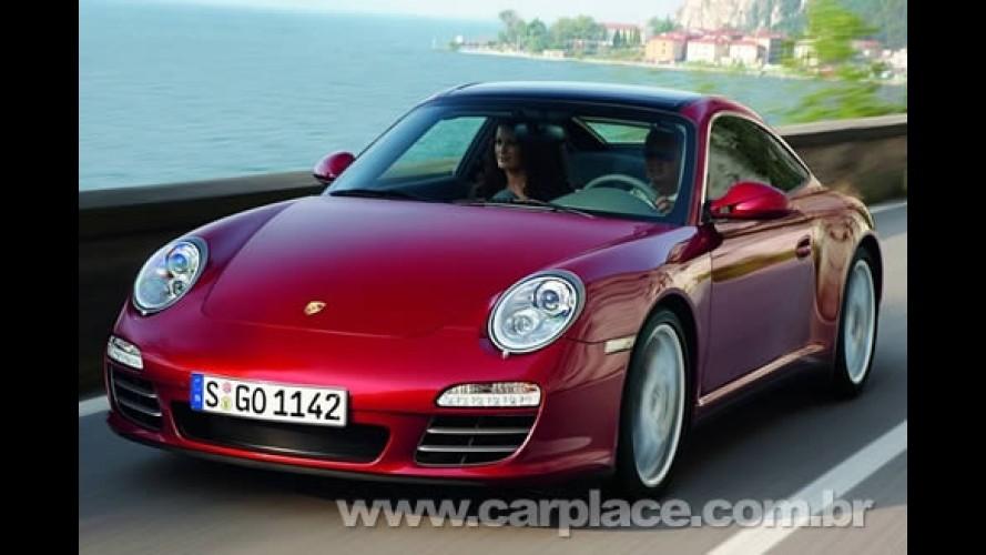Porsche 911 Targa 2009 - Esportivo ganha teto todo de vidro e câmbio PDK