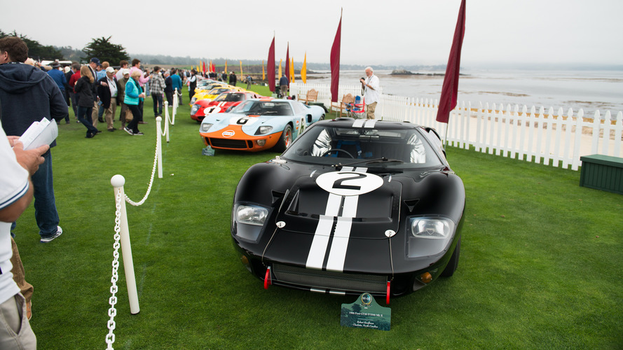 Meet the Ford GT40s of the 2016 Pebble Beach Concours d'Elegance