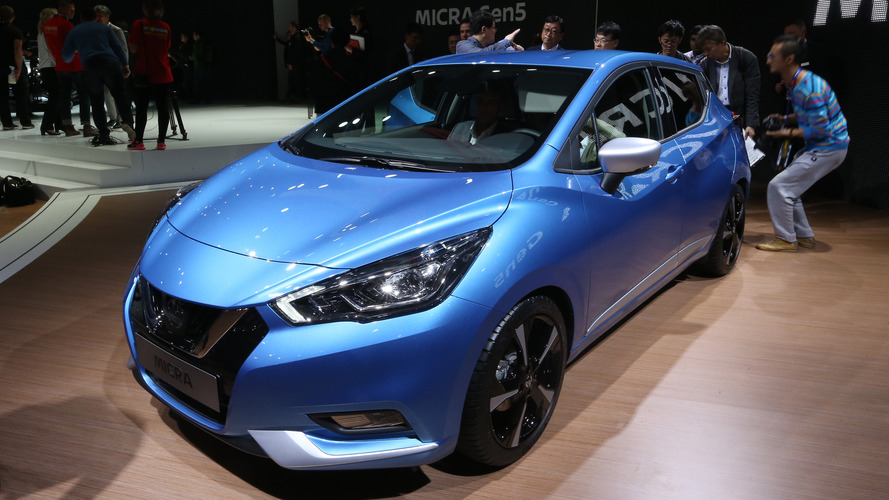 Nissan Micra 2017 - Les photos de la citadine en direct de Paris