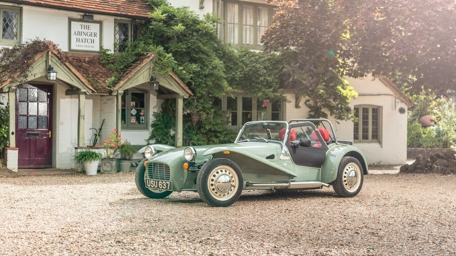 Caterham Seven Sprint - Fan des sixties !
