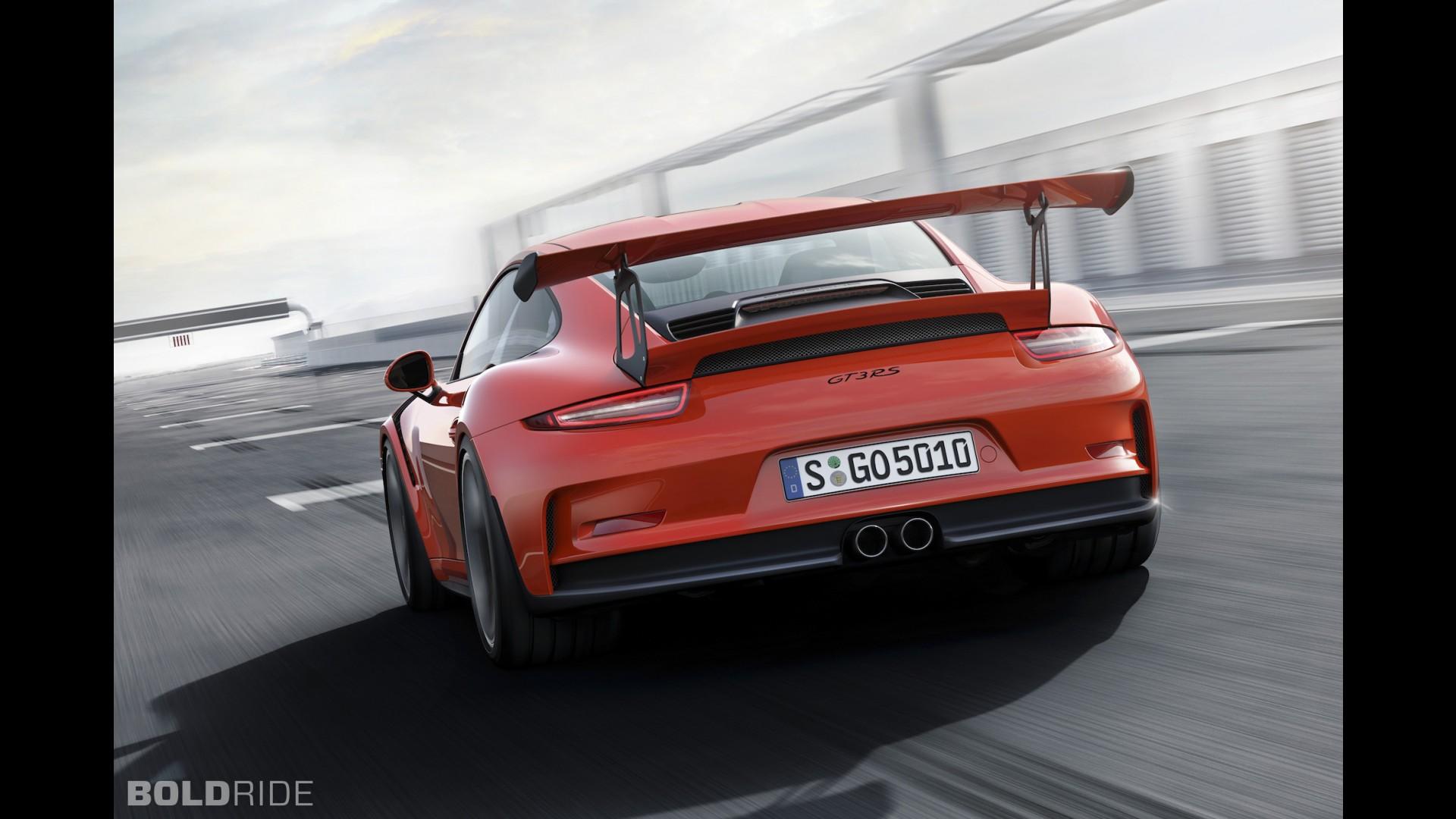 Гоночный Porsche 911 GT3 RS