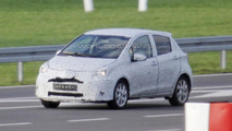 2014 Toyota Yaris facelift 06.11.2013