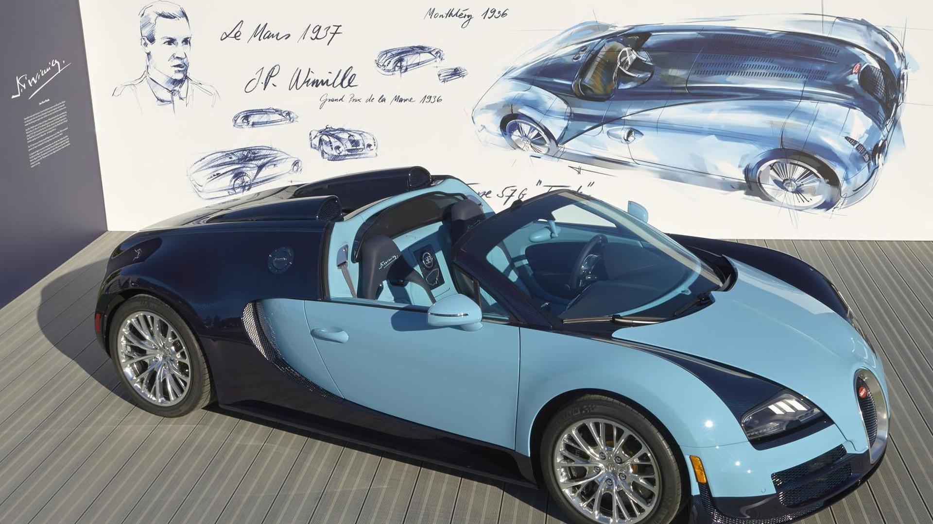 2013-403032-bugatti-veyron-grand-sport-vitesse-jean-pierre-wimille-edition1 Extraordinary Bugatti Veyron Grand Sport Vitesse Cars Trend