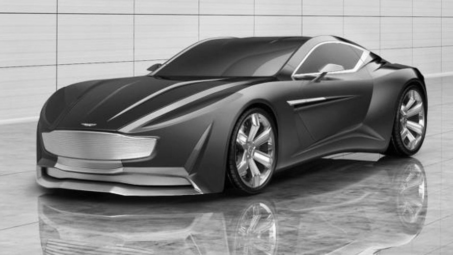 Aston Martin VIE GH Anniversary 100 Concept rendered