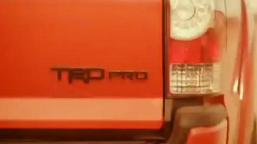 Toyota Tundra, Tacoma and 4Runner TRD Pro models teased [video]
