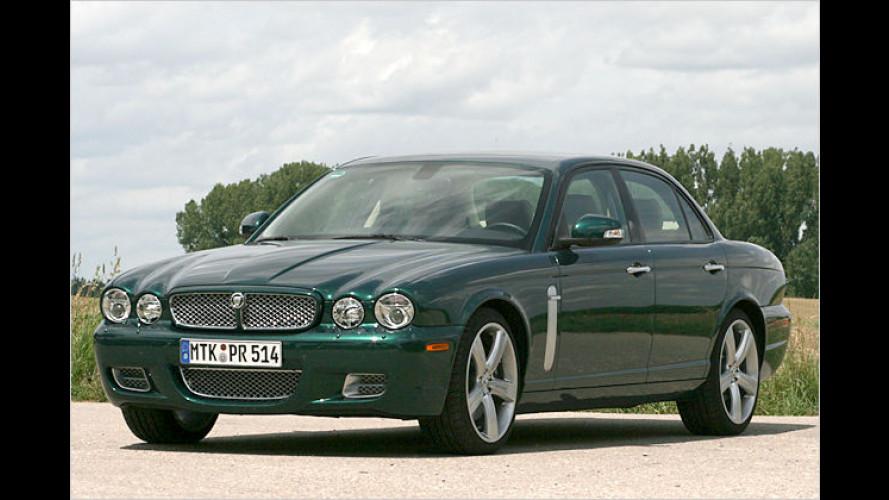 Sanft, stark, schizophren: Jaguar XJR mit Facelift