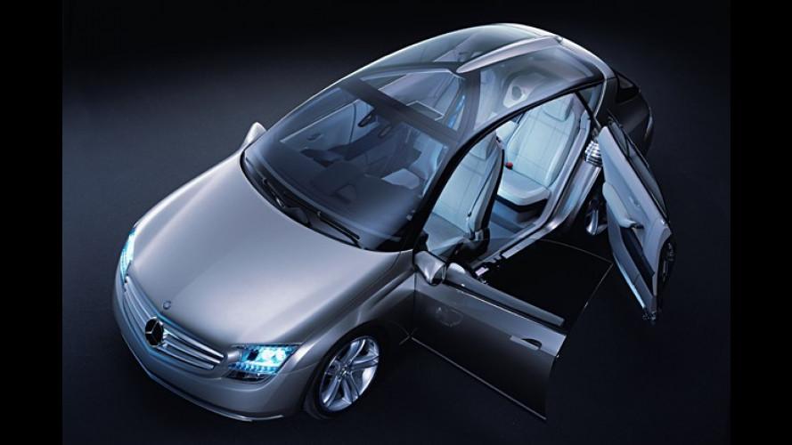 Mercedes: Studie F 500 Mind mit jeder Menge Technik