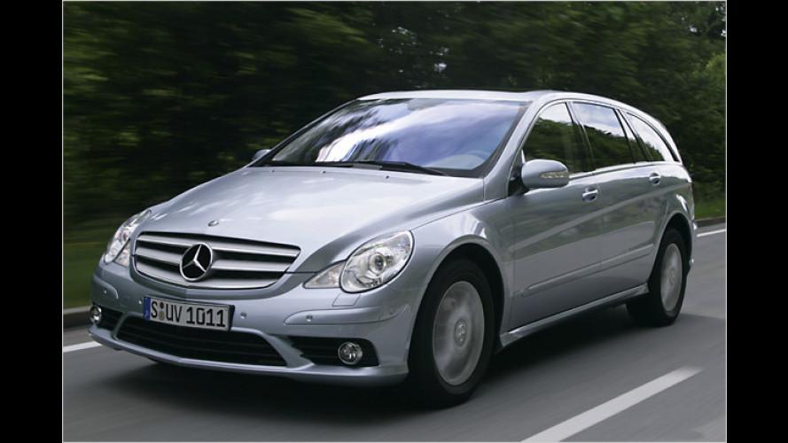 Endlich mit Profil: Mercedes sortiert die R-Klasse neu