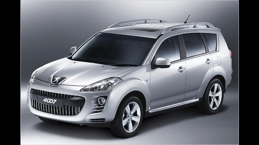 Löwenkralle: Peugeot erobert mit dem 4007 neues Terrain