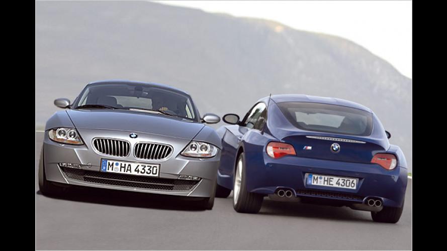 Gut bedacht: Bilder, Fakten und Preise zum BMW Z4 Coupé