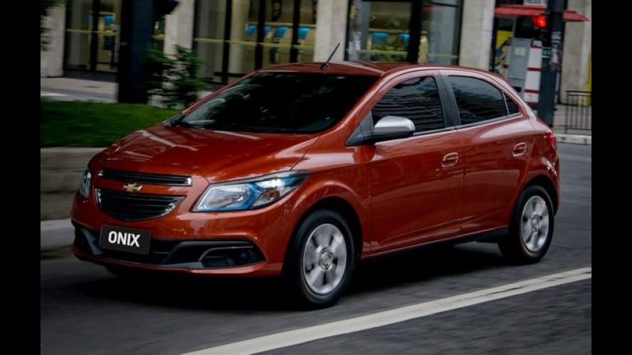 Vendas em julho: Onix é o nº 1 em cinco estados; Fiat lidera em mais de 50% do país