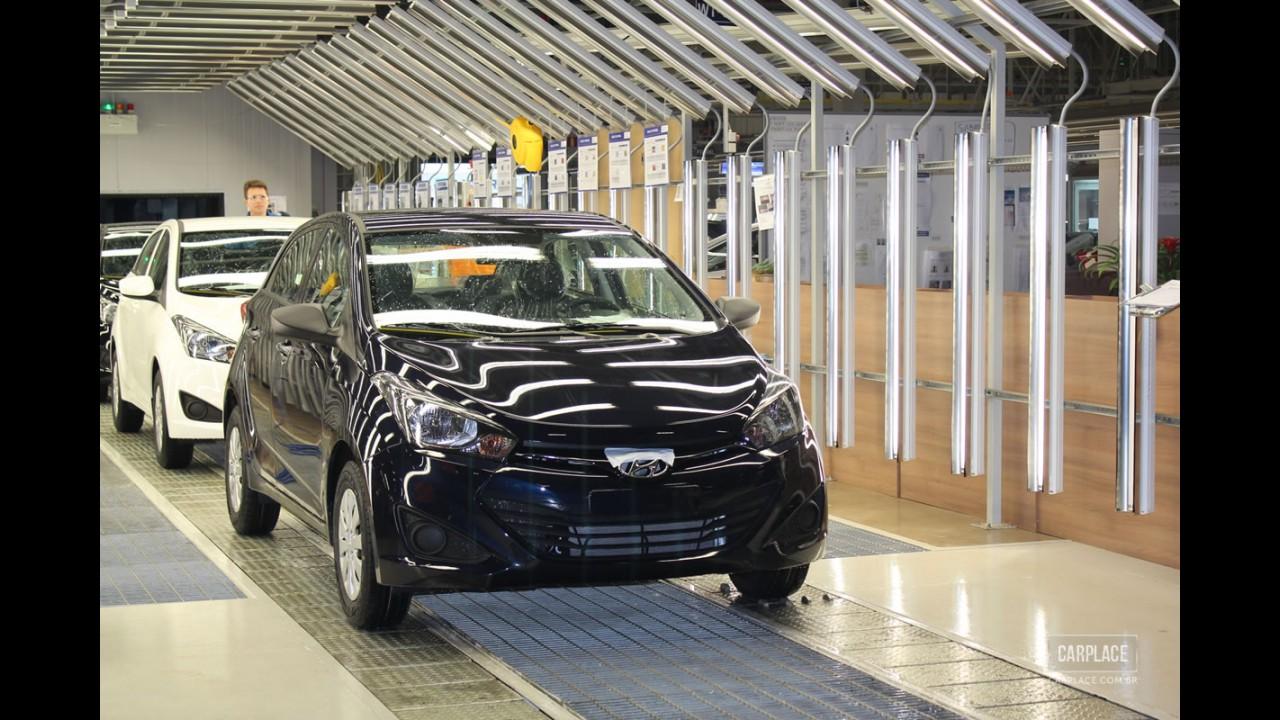 Hyundai já vendeu mais de 50.000 unidades do HB20