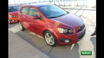 Salão de Montevidéu: Lançamento do Chevrolet Sonic