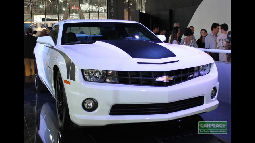 Galeria de Fotos: Chevrolet Camaro SS no Salão do Automóvel