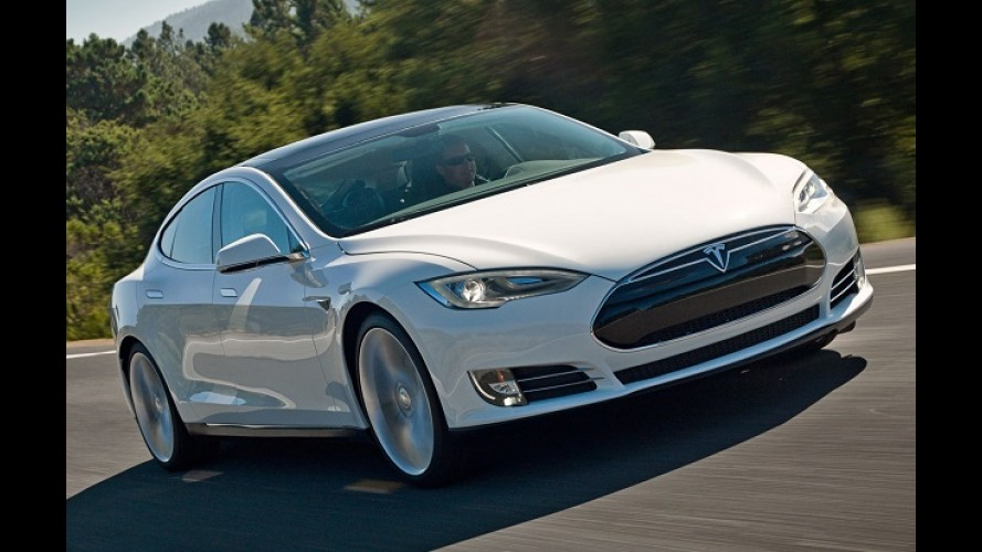 Tesla Model S é investigado por denúncia de aceleração involuntária