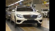 Novo Mercedes-Benz Classe S 63 AMG aparece em vídeo