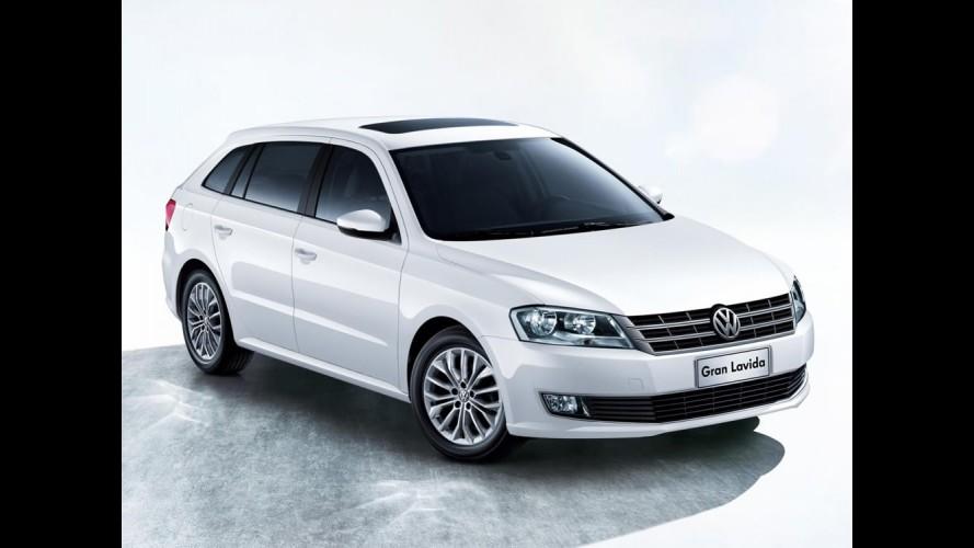 Nova Quantum? Gran Lavida é destaque da VW em Xangai