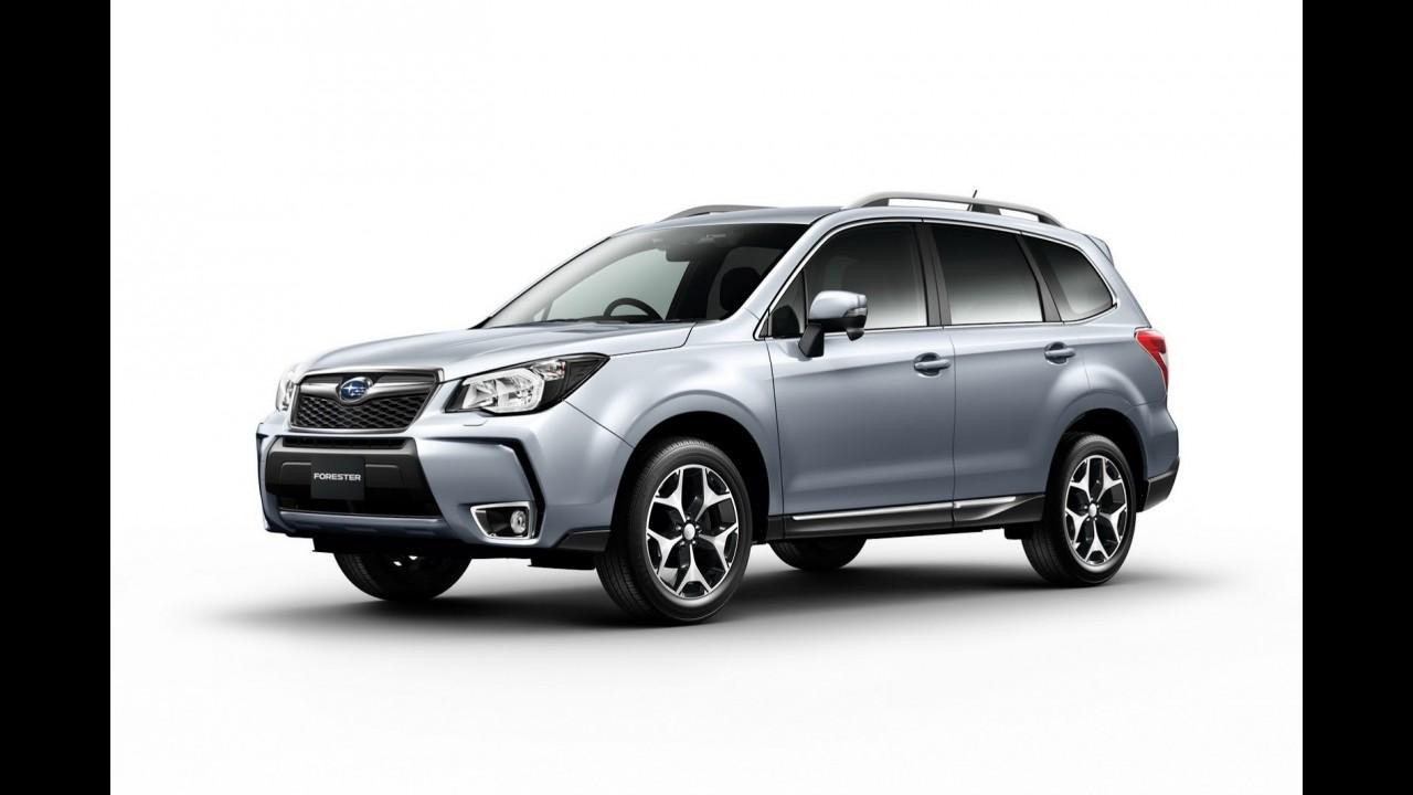 Subaru Forester 2014 é apresentado oficialmente - Crossover será atração da marca em Los Angeles