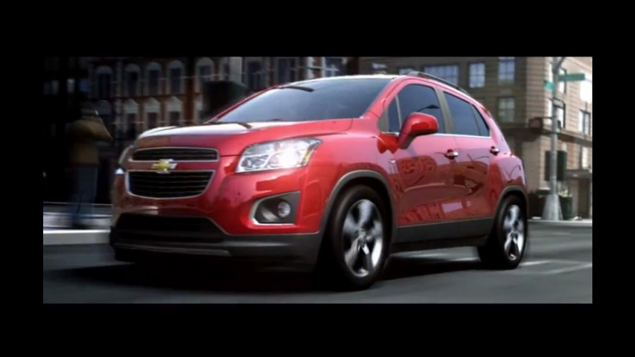 Vídeo: Chevrolet Trax (Tracker) 2013 em movimento