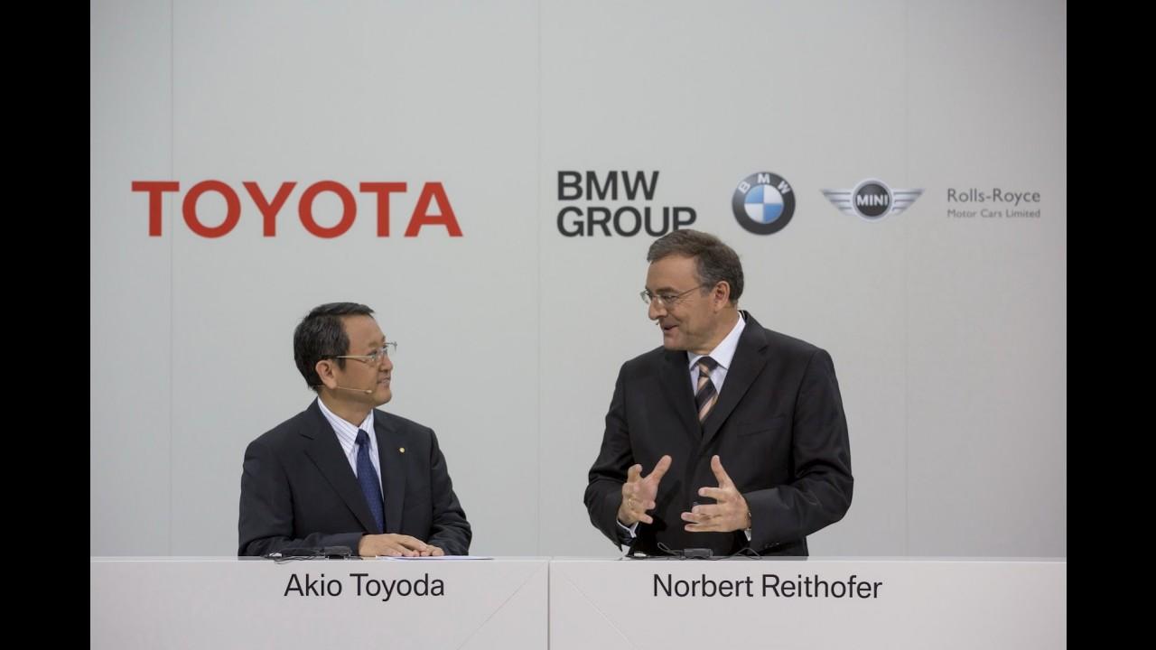 BMW e Toyota desenvolverão componentes mecânicos e um novo esportivo em conjunto